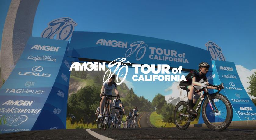 amgen tour of california ride to win series でタイムトライアルに