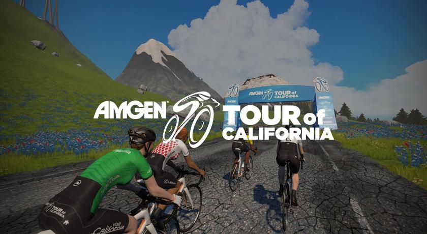 ツアー オブ カリフォルニアを見ながら amgen tour of california に